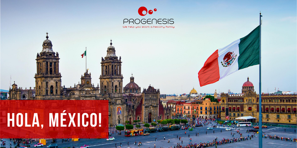 Progenesis is now in Mexico.